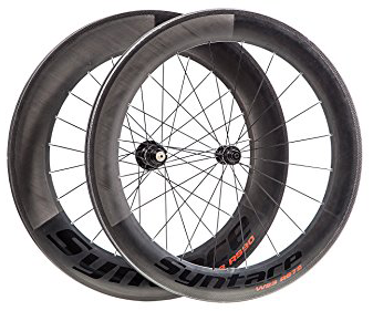 Syntace W23 RS Carbon Road Wheels. Distributed by Cycle Monkey.