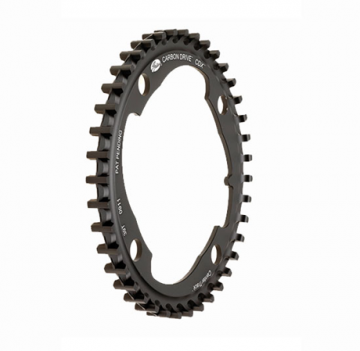 Gates CDX Center Track Front Sprockets 39T . Distributed by Cycle Monkey.