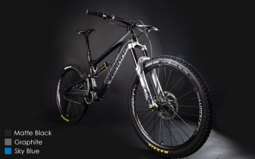 Zerode Taniwha Enduro Bike with Pinion Gearbox. Cane Creek Edition. Distributed by Cycle Monkey.